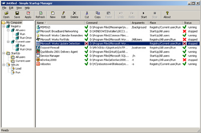 Click to view Simple Startup Manager screenshots